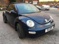 2005 Volkswagen Beetle Convertible 2.0 Petrol , HPI CLEAR , MOT till 2019 April