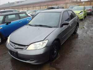 HONDA CIVIC (2001/2005/ FOR PARTS PARTS ONLY)