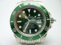Rolex Submariner V7 Green 3135
