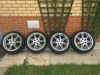 Honda Civic type r ep3 wheels 5x114