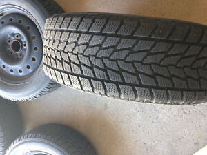 215/60/R16 Toyo Observe G-02 Plus Including Rims