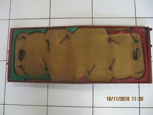 Vintage Classic Munro Games Limited Solid Wood Hockey Set 1950s