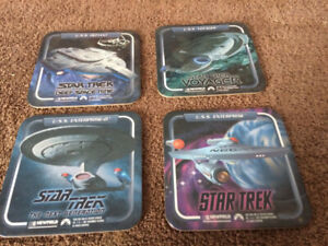 Star Trek Collectible Coasters - set of 4