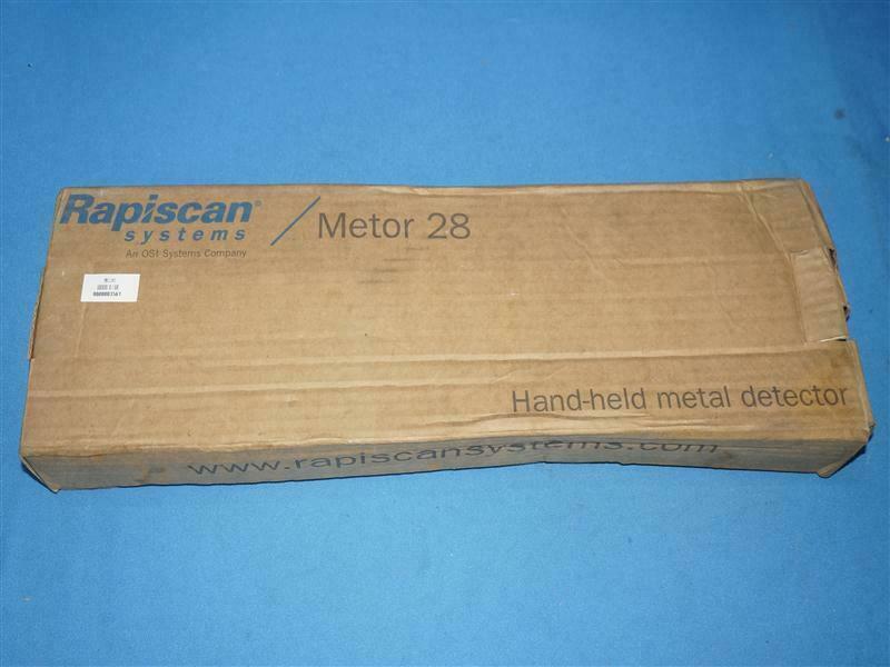 Rapiscan METOR 28 METOR28 Hand-held Metal Detector