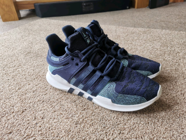 adidas Originals x Parley Mens EQT Support ADV CK Trainers size 10 | in Plymouth, Devon | Gumtree