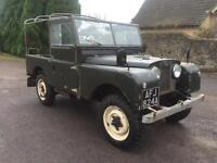 1956 Land Rover Series 1,