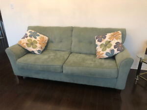 Living room set - Couch, Love seat & Arm Chair