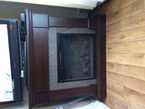 Fireplace/ electric
