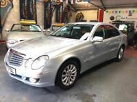 MERCEDES E CLASS E280 3.0 V6 ELEGANCE Silver Auto Petrol, 2007 (07)