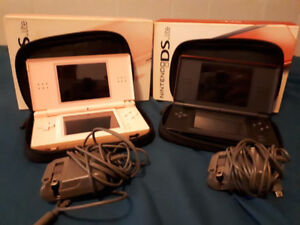 Selling  Nintendo DS Lite x 2, 22 games, and carrying case.
