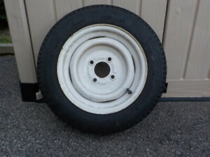 TRAILER WHEEL AND TIRE - NEW
