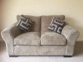 Mocha Small 2 Seat Sofa