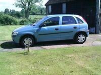 2003 Vauxhall Corsa 1.2i 16v GLS
