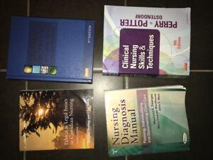Nursing textbooks! Like New! $50