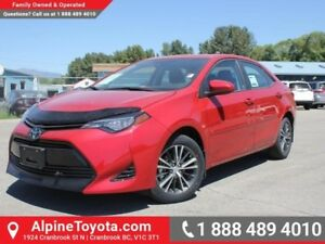 2017 Toyota Corolla LE  Hood Deflector - Remote Start - Heated S