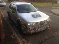 Vw golf 2.0 Gti MANAUL unfinished project 87k miles £180