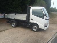 2009 (09)Toyota Dyna 3.0D-4D ( Euro IV ) 300 SWB Caged dropside Tipper,F/S/H