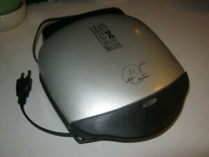 George Foreman Lean Mean Mini Grilling Machine - EUC - $10