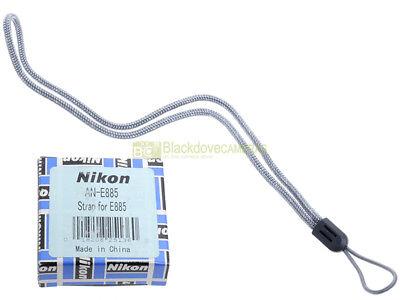 Nikon AN-E885 Laccio da polso per fotocamere Nikon. Originale. Genuine strap.