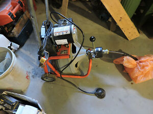 Ridgid auto feed sewer auger. barely used.