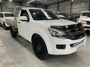 2015 Isuzu D-MAX MY15 SX 4x2 White 5 Speed Manual Cab Chassis Boolaroo Lake Macquarie Area Preview