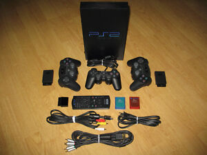 SONY PS2 Console - Accessories - 21 Games - LIKE NEW