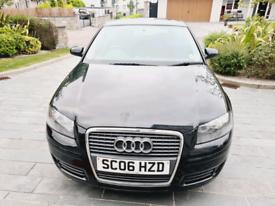 50K miles 2006 Audi A3 1.6 Petrol..SE.long MOT.No advisory FSH..£3450