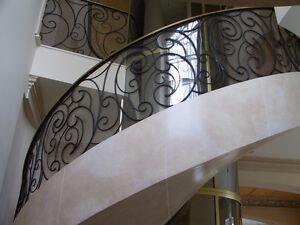 Railings Custom Made Hand Forged Designs Interior/Exterior Kingston Kingston Area image 8