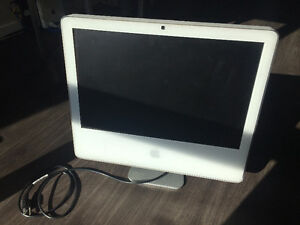 White 20-Inch IMac Great Condition OSX Lion