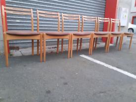 6 Retro Chairs