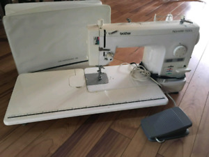 Semi industrial straight stitch brother sewing machine