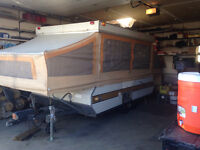Tent trailer/utility trailer for sale