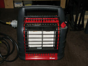 Big Buddy Propane Heater with 25lb tank adapter