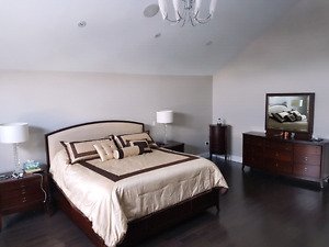 Bedroom Set For Sale - 4 Years Old - High End Quality