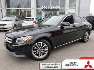 2017 Mercedes Benz C-Class C 300  NAVI-LEATHER-SUNROOF