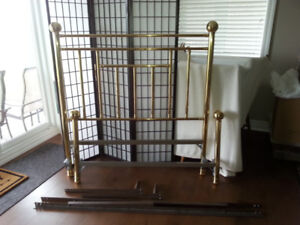 BEAUTIFUL SOLID BRASS DOUBLE BED