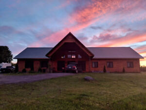 Avail. Feb 1st-Room for rent in cozy log home on organic farm.