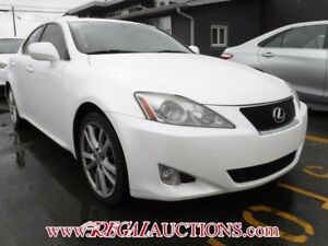 2007 LEXUS IS350  4D SEDAN
