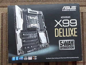 Asus X99 deluxe Motherboard for sale