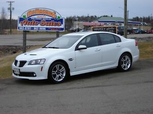 2009 PONTIAC G8 ONLY 49500KM***NEW TIRES***SUNROOF***