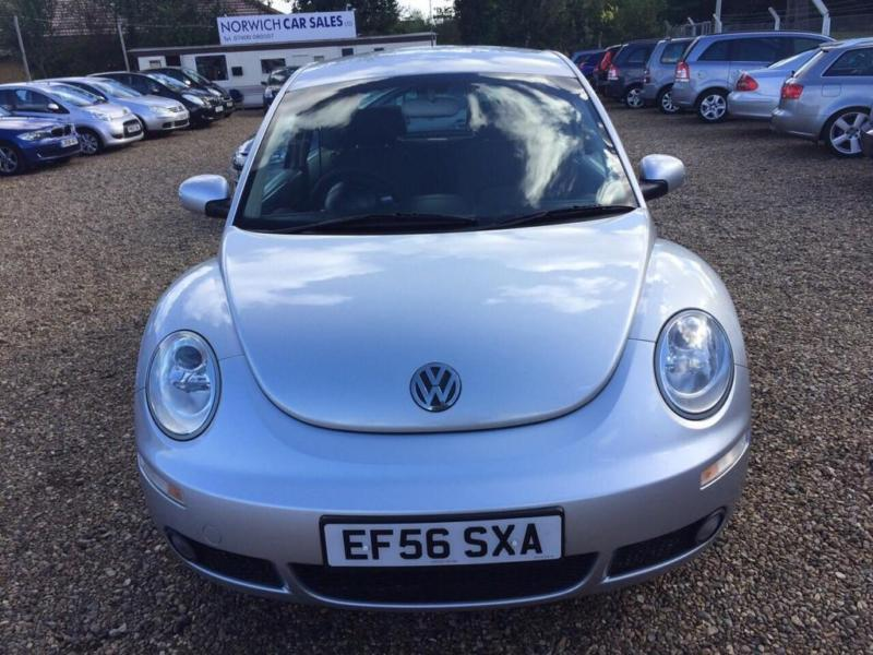 2006 volkswagen beetle 1 6 luna 3dr in norwich norfolk. Black Bedroom Furniture Sets. Home Design Ideas