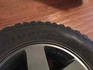 Set of 5 BF Goodrich Mud Terrain Jeep JK tires/rims Campbell River Comox Valley Area image 3