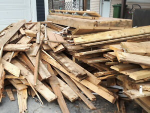 Free for the taking - Wood from Renovation Project