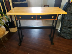 Rustic console table - won't last long !!