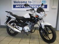 YAMAHA YBR 125 TRADE SALE BARGAIN LEARNER COMMUTER 2016 WITH LOW MILES