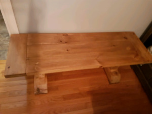 For Sale Rustic Bench