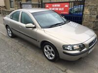VOLVO S60 DIESEL AUTOMATIC (52) FULL SERVICE HISTORY, MOT MAY, WARRANTY £1595