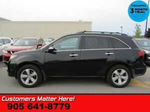 2011 Acura MDX Base  AWD LEATHER ROOF P/SEATS HS PWR-GATE