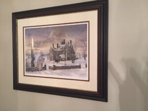 Beautiful Marie Moore Limited Edition .... framed prints