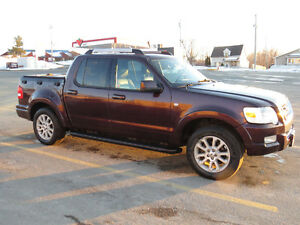 2007 Ford Explorer Sport Trac Limited SUV, Crossover